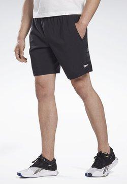 Reebok - LES MILLS® 9-INCH SHORTS - Shorts - black
