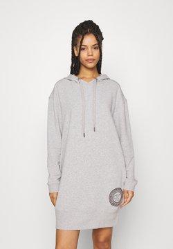 Calvin Klein Underwear - NIGHTSHIRT HOOD - Nachthemd - grey heather