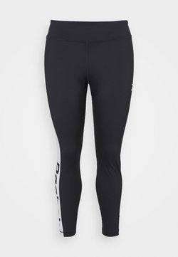 Reebok - LINEAR LOGO - Tights - night black