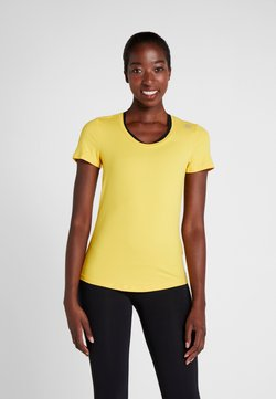 Reebok - TEE - T-Shirt basic - toxic yellow