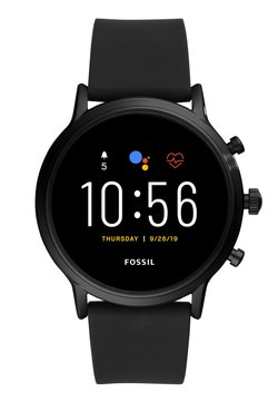 Fossil Smartwatches - THE CARLYLE HR SMARTWATCH - Montre - black