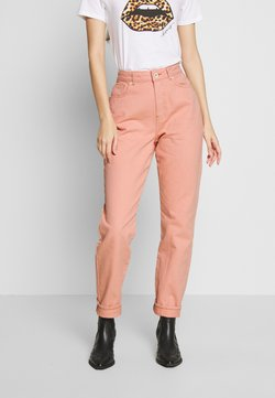 Noisy May - NMISABEL MOM - Jeans baggy - silver pink