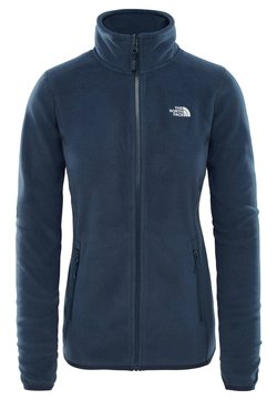 The North Face - WOMENS GLACIER FULL ZIP - Veste polaire - blue/grey