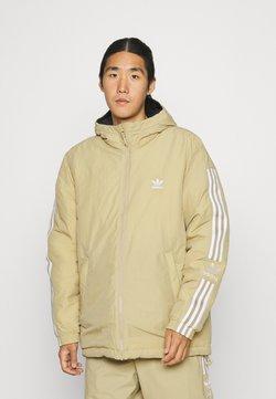 adidas Originals - LOCK UP PADD - Talvitakki - beige tone/black