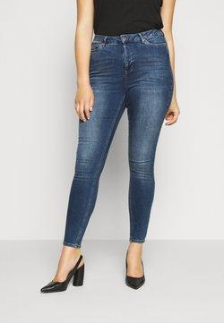 Vero Moda Curve - VMLORA  - Jeans Skinny Fit - medium blue denim