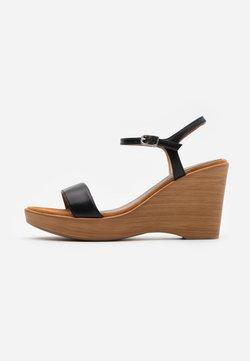 Unisa - RITA  - High Heel Sandalette - black