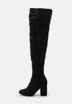 Even&Odd Wide Fit - Laarzen met hoge hak - black