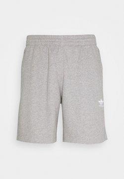 adidas Originals - ESSENTIAL UNISEX - Shortsit - mottled dark grey