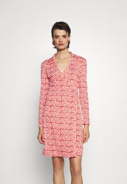 Diane von Furstenberg - NEW JEANNE - Jerseyklänning - ibiza red