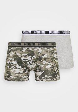 Puma - MEN CAMO BOXER 2 PACK - Panties - green combo