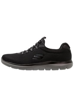 Skechers Sport - SUMMITS - Sneaker low - black/charcoal