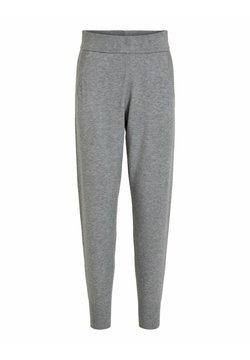 Vila - Jogginghose - medium grey melange