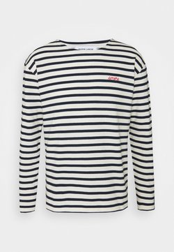 Maison Labiche - SAILOR TEE LSAMORE - Maglietta a manica lunga - ivory/navy