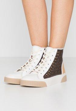MICHAEL Michael Kors - GERTIE STUDDED TOP - Sneakers hoog - brown