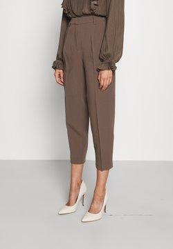 Bruuns Bazaar - CINDYSUS DAGNY PANTS - Kangashousut - major brown
