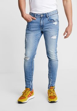 Redefined Rebel - STOCKHOLM DESTROY - Slim fit jeans - soft blue