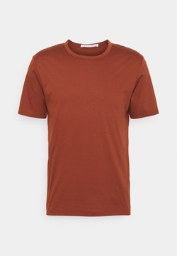 Tiger of Sweden - OLAF - T-Shirt basic - rust red