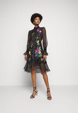 Marchesa - DAMASK DRESS - Cocktail dress / Party dress - black