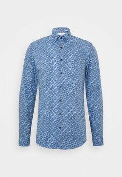 Calvin Klein Tailored - FLOWER PRINT - Businesshemd - blue