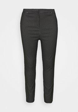 New Look Curves - GRID BENGALINE TROUSER - Pantalon classique - black