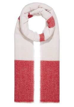 CLOSED - MIX COLOUR BLOCK SCARF - Schal - peony