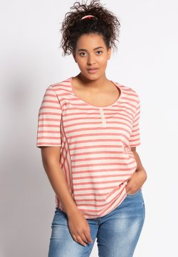 Ulla Popken - T-Shirt print - rouge