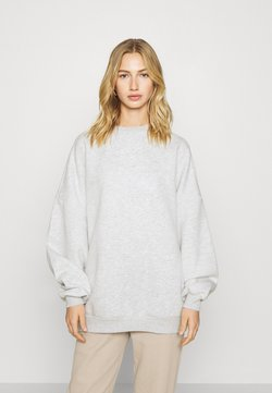 Nly by Nelly - PERFECT OVERSIZE - Sweatshirt - grey mélange