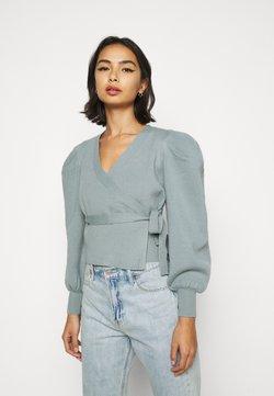 Fashion Union Petite - BALLET - Vest - green