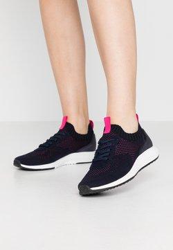 Tamaris Fashletics - Sneakers laag - navy/magenta