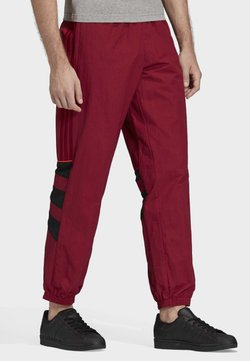 adidas Originals - BALANTA 96 TRACKSUIT BOTTOMS - Jogginghose - burgundy