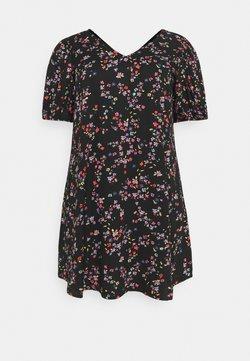 Pieces Curve - PCLALA DRESS  - Vapaa-ajan mekko - black