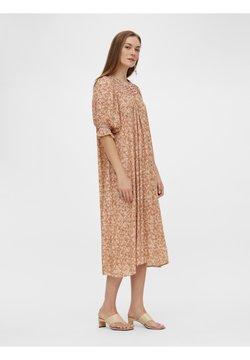 YAS - YASFARINA DRESS - Freizeitkleid - golden straw