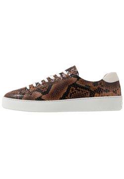 Tiger of Sweden - SALAS - Sneakers laag - dark brown