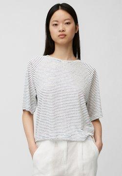 Marc O'Polo - T-Shirt print - multi/white linen