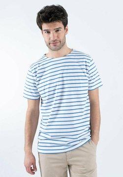 Armor lux - HOËDIC MARINIÈRE - T-Shirt print - blanc/ozero