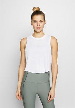 Cotton On Body - CROSS BACK TANK - Top - white