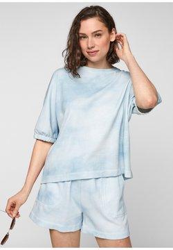 s.Oliver - T-Shirt print - blue fog aop