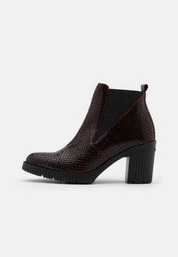 WONDERS - Ankle Boot - vino