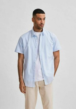Selected Homme - SLHREGNEW SHIRT CLASSIC - Koszula - skyway