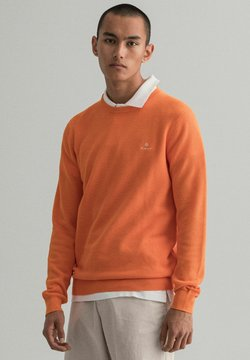 GANT - C NECK - Strickpullover - orange