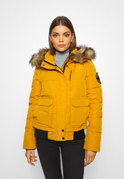 Superdry - EVEREST - Winterjacke - ochre