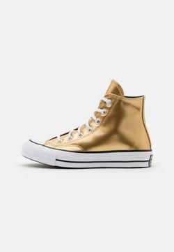 Converse - CHUCK 70 - Sneakersy wysokie - gold/black/egret