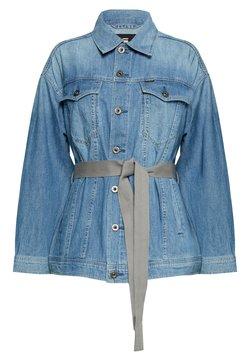 G-Star - REAL BOYFRIEND - Veste en jean - faded orion blue