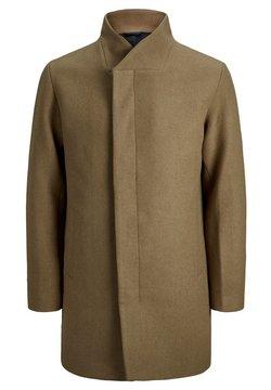 Jack & Jones - PLUS SIZE MANTEL WOLL- - Short coat - khaki