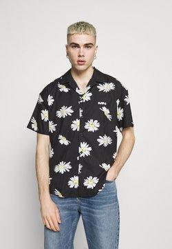 Mennace - DAISY PRINT REVERE SHIRT - Hemd - black