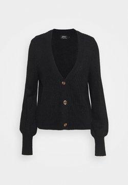 ONLY Tall - ONLNICOYA CLARE CARDIGAN - Vest - black