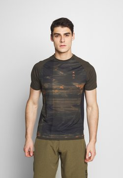 ION - TEE TRAZE - T-Shirt print - root brown