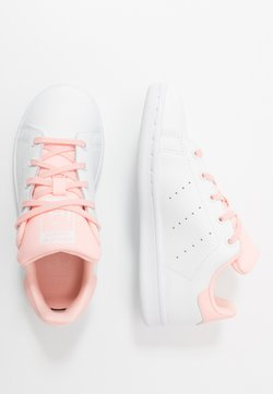 adidas Originals - STAN SMITH UNISEX - Baskets basses - footwear white/haze coral