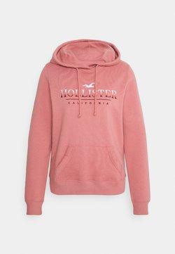 Hollister Co. - SECONDARY TECH CORE  - Kapuzenpullover - pink