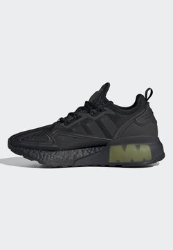 adidas Originals - ZX 2K BOOST J - Sneakersy niskie - black